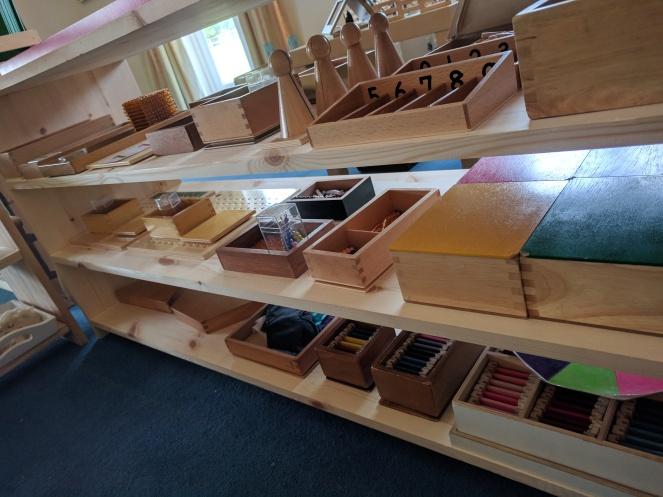 Montessori numeracy activities