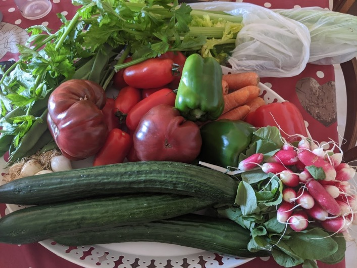 Selection of healthy ingredients!